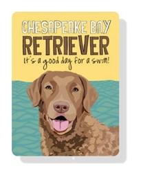 "Chesapeake Bay Retriever sign  - 9"" x 12"""