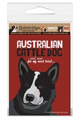 Australian Cattle Dog (Black) Magnet