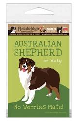 Australian Shepherd (Brown) Magnet
