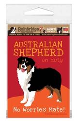 Australian Shepherd (Black) Magnet