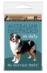Australian Shepherd (Tri-Color) Magnet