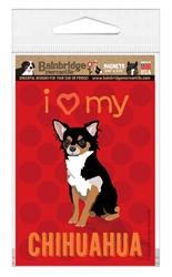 Chihuahua (Black & Tan Dog) Magnet
