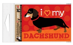 Dachshund (Black & Tan Dog) Magnet