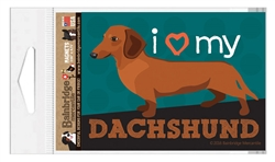 Dachshund (Red Dog) Magnet
