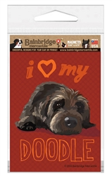 Doodle (Chocolate Dog) Magnet