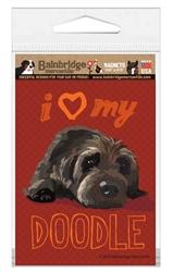 Doodle (Chocolate Dog) Magnet