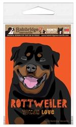 Rottweiler - Tough Love Magnet