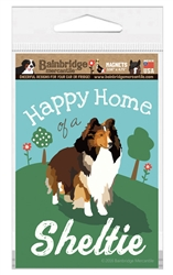 Happy Home of a Sheltie Magnet
