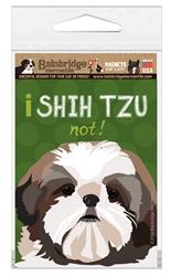 I Shih Tzu Not Magnet
