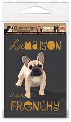 French Bulldog (Black Dog) Magnet