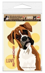 Boxer (Single Dog) Magnet