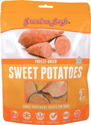 GRANDMA LUCYS DOG FREEZE DRIED SWEET POTATO TREAT 2 OZ.