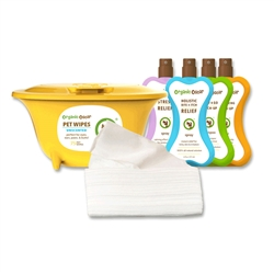 Organic Oscar Dry Pet Wipes