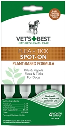 Flea + Tick Spot-On Dropper