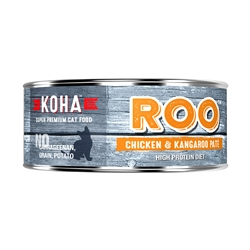 KOHA Chicken + Kangaroo Pâté Wet Cat Food - 5.5 oz cans