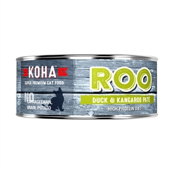 KOHA Duck + Kangaroo Pâté Wet Cat Food - 5.5 oz cans