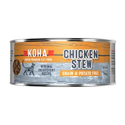KOHA Chicken Stew Wet Cat Food - 5.5 oz cans