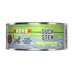 KOHA Duck Stew Wet Cat Food - 5.5 oz cans