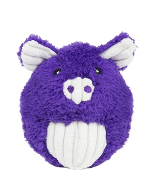 Hugglehounds Plush Durable Knot-less Barnyard Squooshie Balls
