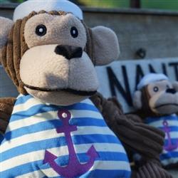 Hugglehounds Plush Durable Sailor Knottie Chimp