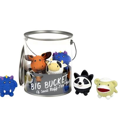 Ruff-Tex 10 Pc Bucket of Small Toys
