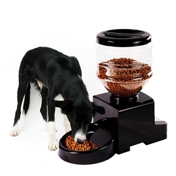 Automatic Pet Feeder - Black Color