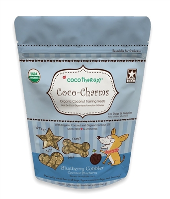 Coco-Charms Training Treats Blueberry Cobbler