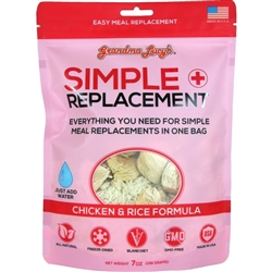 GRANDMA LUCYS DOG FREEZE DRIED SIMPLE REMEDY CHICKEN 7 OZ..