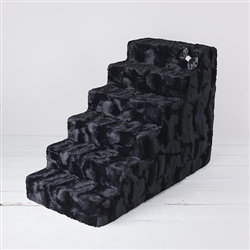 "Luxury Pet Stairs 6 Step"" Black Diamond"