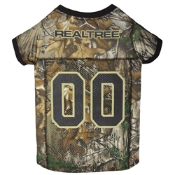 REAL TREE Camouflage Dog Jersey