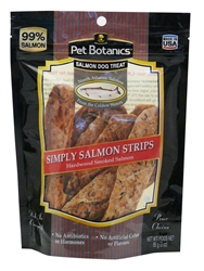 Pet Botanics Simply Salmon Strips Dog Treats