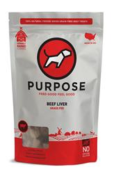 Purpose Freeze-Dried Beef Liver Treats For Dogs & Cats, 3oz. bags