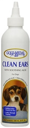 Gold Medal Pets Clean Ears with Soothing Aloe & Cleansing Bubbles 4oz