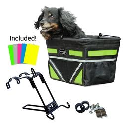 2017 Pet-Pilot bike basket for dogs | cats  + 5 COLORS