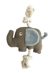 SimplyFido Basic Collection -  Ellis Elephant Rope toy