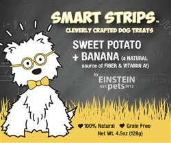 SMART STRIPS™ SWEET POTATO + BANANA Jerky Treats for Dogs