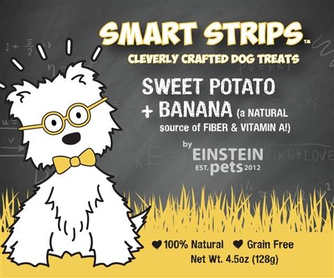 SMART STRIPS™ SWEET POTATO + BANANA Chew Treats for Dogs