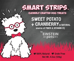 SMART STRIPS™ SWEET POTATO + CRANBERRY Jerky Treats for Dogs