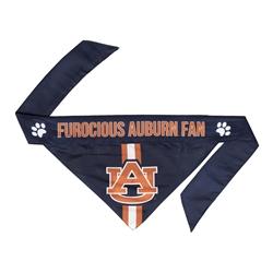 NCAA Auburn Dog Bandana  - TIE ON