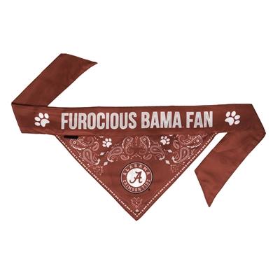 NCAA Alabama Dog Bandana  - TIE ON