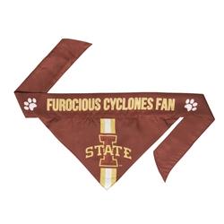 NCAA Iowa State Dog Bandana  - TIE ON