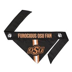 NCAA Oklahoma State Dog Bandana  - TIE ON