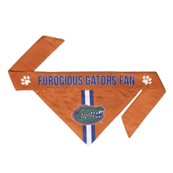 NCAA Florida Gators Dog Bandana  - TIE ON