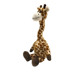 Multicolored Floppy Giraffe Dog Toys