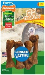 NYLABONE HEALTHY EDIBLES PUPPY SWEET POTATO & TURKEY