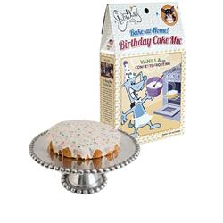 Vanilla Birthday Cake Mix w/Confetti Sprinkles & Frosting Mix by The Lazy Dog