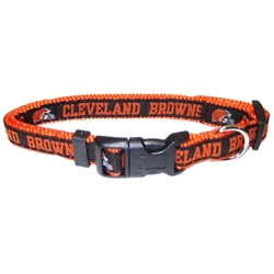 NFL Cleveland Browns Dog Collar