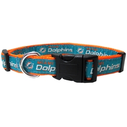 NFL Miami Dolphins Dog Collar