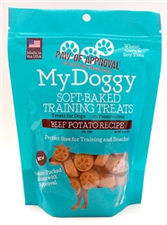 8oz Bag of Beef and Potato My Doggy™ Protein Line Training Treats