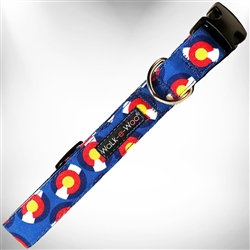 Colorado Blue Dog Collars and Leads